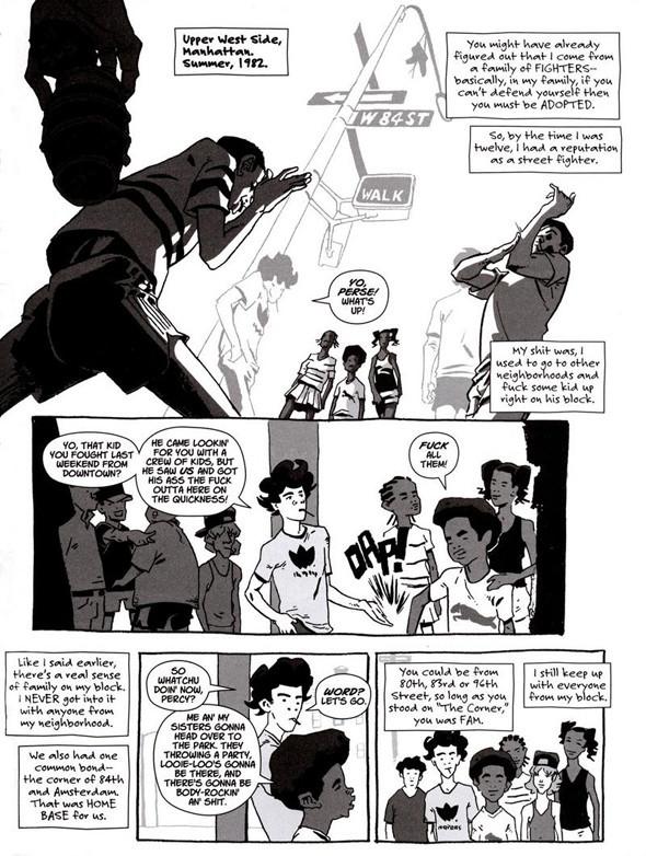 Комиксы легенды хип-хопа. Изображение № 17.