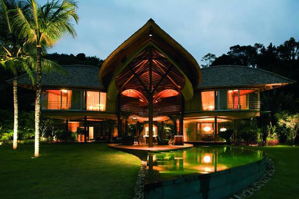 Райская сень дома-«листа». Изображение № 2.