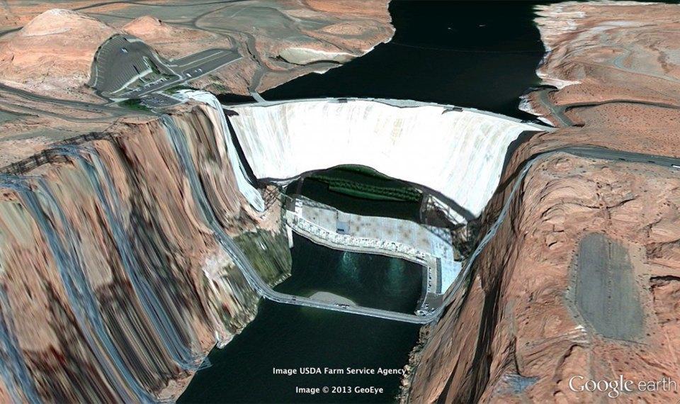 32 фотографии из Google Earth, противоречащие здравому смыслу. Изображение № 4.