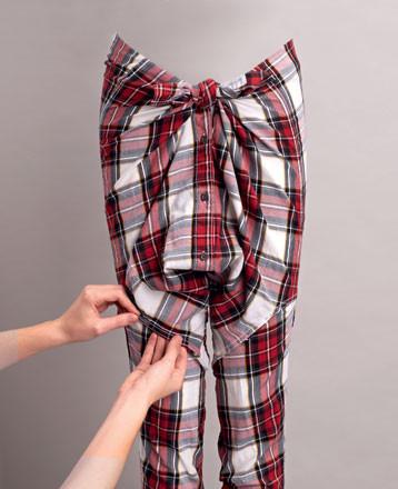 3000 идей переделки одежды из старой в стильную. Изображение № 40.