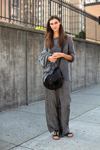 Нерабочее время: Блоги об уличном стиле моделей. Изображение № 18.
