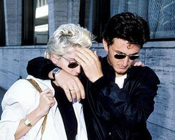 ШонПенн иМадонна – ревность, любовь иненависть. Изображение № 1.