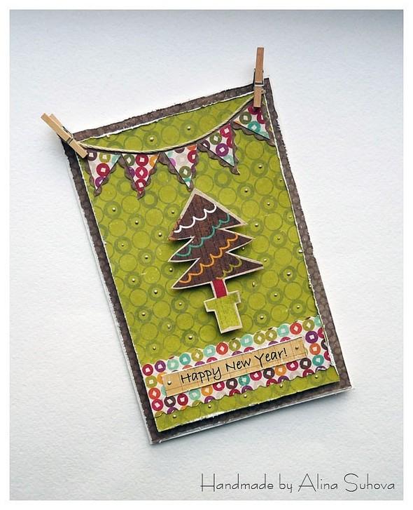 Хенд-мейд: новогодняя открытка своими руками - Новости - LADY.tsn.ua