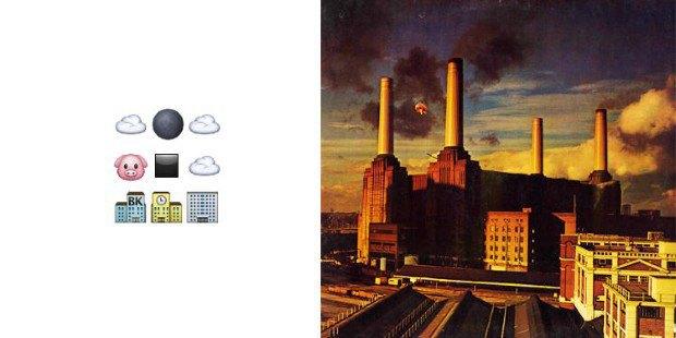 Музыкант воссоздал обложки классических альбомов из Emoji. Изображение № 4.