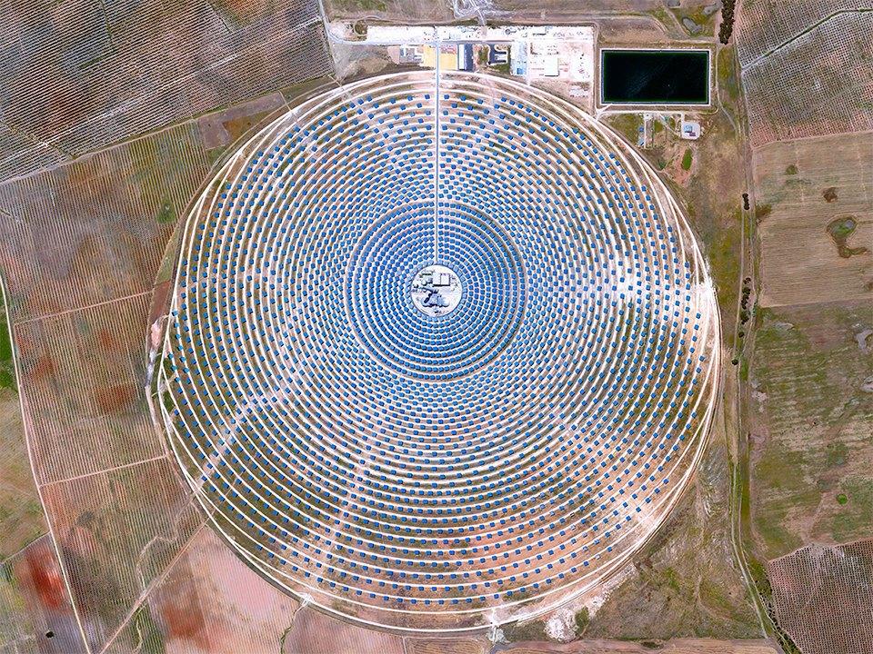 Снимки из космоса, напоминающие о хрупкости природы. Изображение № 1.