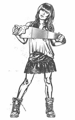 Девушки с оружием от Frank Barbara. Изображение № 41.