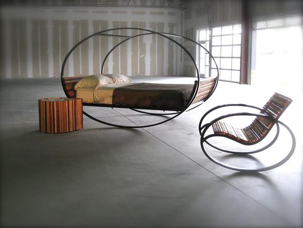 Кровать-качалка. Изображение № 4.