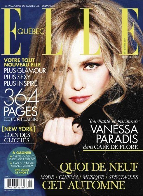 Обложки октября: Elle, Marie Claire, Interview и другие. Изображение № 5.