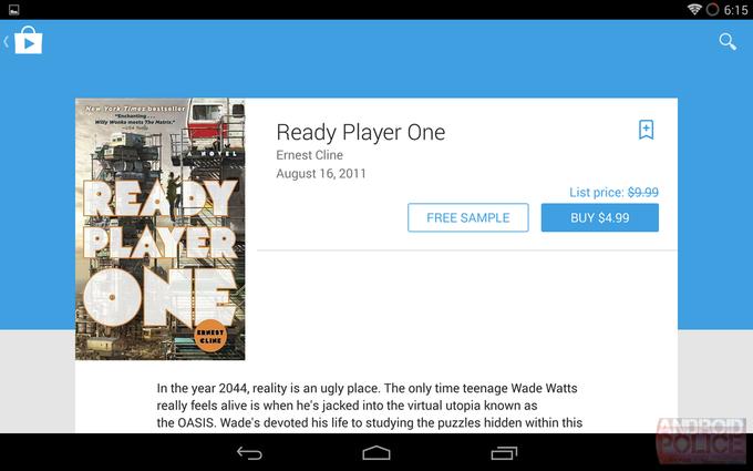 Возможный редизайн интерфейса Google Play для планшетов. Изображение № 10.