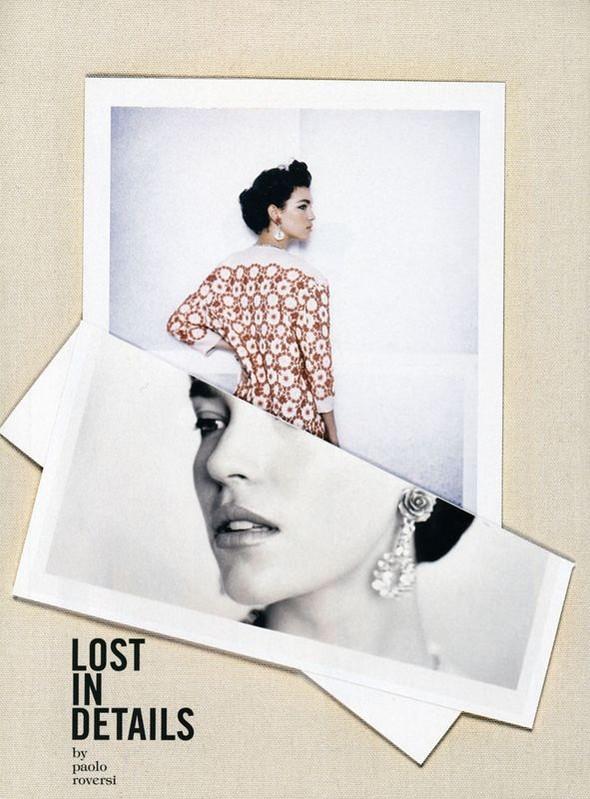 Съёмки: Стивен Майзел и Паоло Роверси для итальянского Vogue. Изображение № 17.