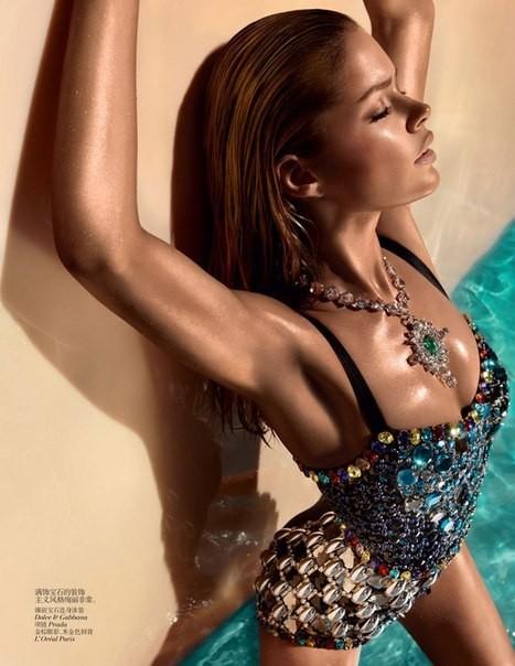 Даутцен Крус для Vogue China. Изображение № 1.