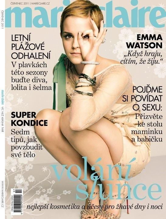 Изображение 4. Обложки: Harper's Bazaar, Marie Claire и другие.. Изображение № 4.