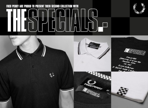 Fred Perry x The Specials 2011. Изображение № 21.
