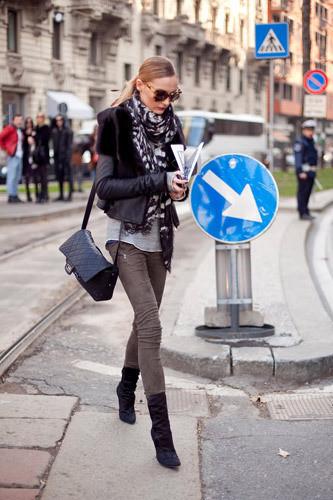 Нерабочее время: Блоги об уличном стиле моделей. Изображение № 23.