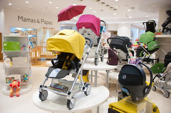 Первый магазин Mamas&Papas открылся  в Москве, в ТРЦ «Европейский» . Изображение № 2.