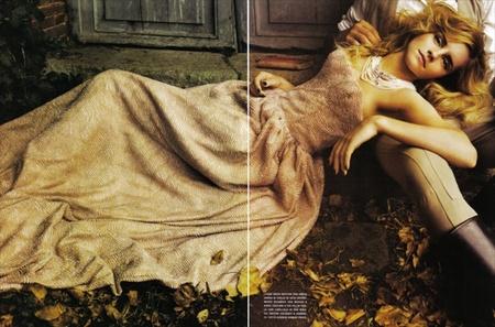 Эмма Уотсон (итальянский Vogue, сентябрь 2008). Изображение № 10.