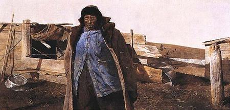 Andrew Wyeth- живопись длясозерцания иразмышления. Изображение № 20.