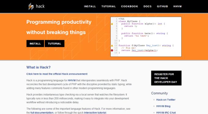 Facebook представил собственный язык программирования. Изображение № 1.