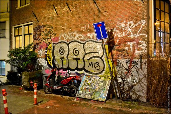 Стрит-арт и граффити Амстердама, Нидерланды. Изображение № 45.