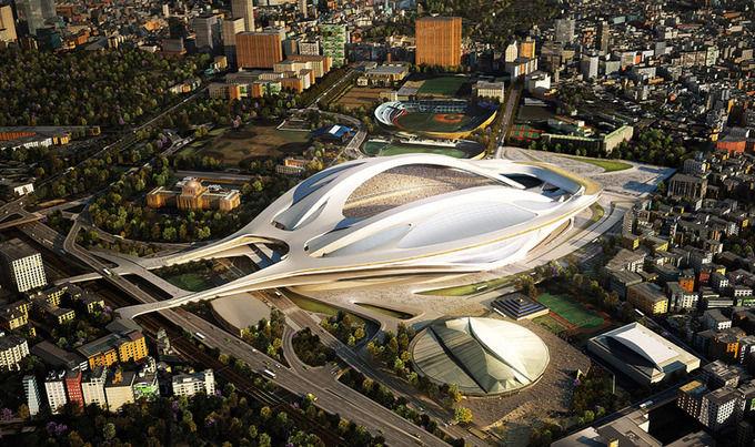 Проект архитектурного бюро Захи Хадид. Изображение № 1.