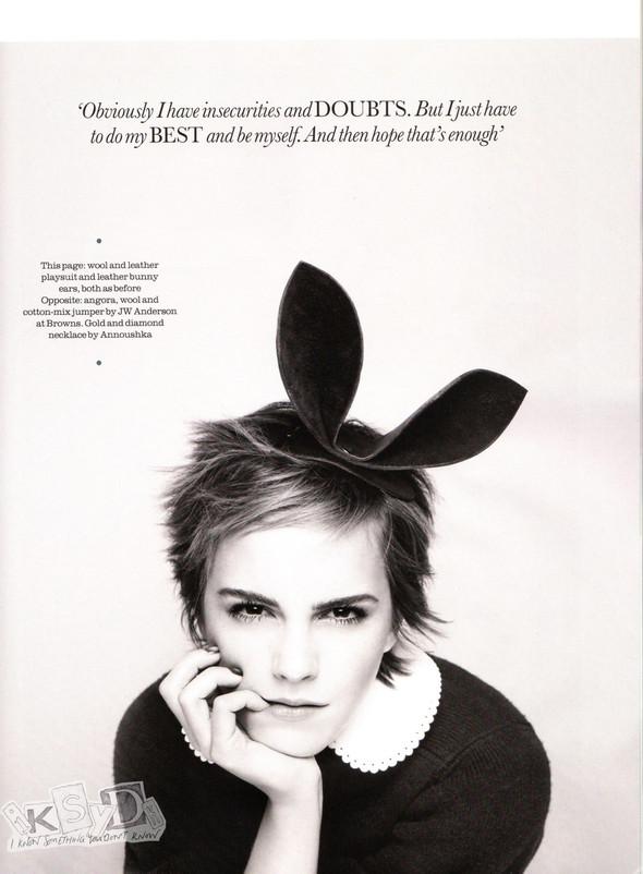Съёмка: Эмма Уотсон и Ранкин для Elle. Изображение № 9.