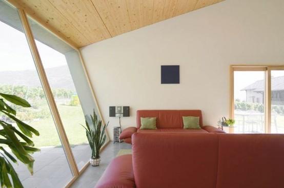 Дом в горах от Nunatak Architectes. Изображение № 8.