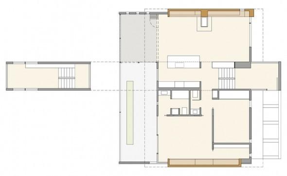Железный дом(Ferrous House) вСША отJohnsen Schmaling. Изображение № 17.