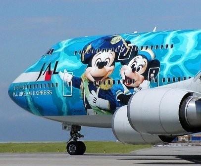 Оригинальное оформление самолетов. Изображение №2.