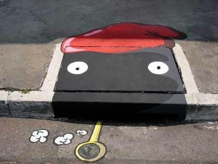 Уличные художники Сан-Пауло делают город веселее. Изображение № 21.