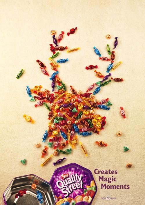 Новогоднее - Рождественский креатив в рекламе. Изображение № 42.