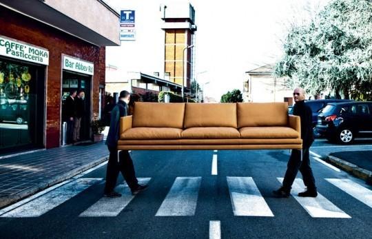 Изящный диван от Zanotta. Изображение № 2.