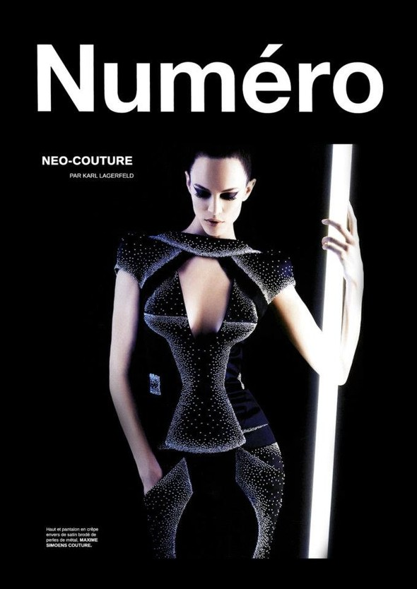 Обложки: Numero, Self Service и Vogue. Изображение № 3.