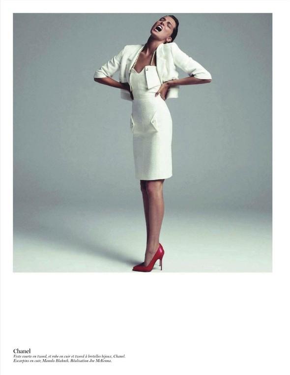 Съёмка: Дарья Вербова для французского Vogue. Изображение № 23.