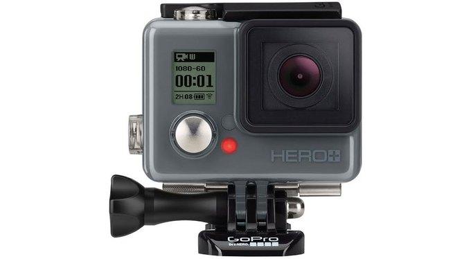 GoPro представила бюджетную камеру Hero+ . Изображение № 1.