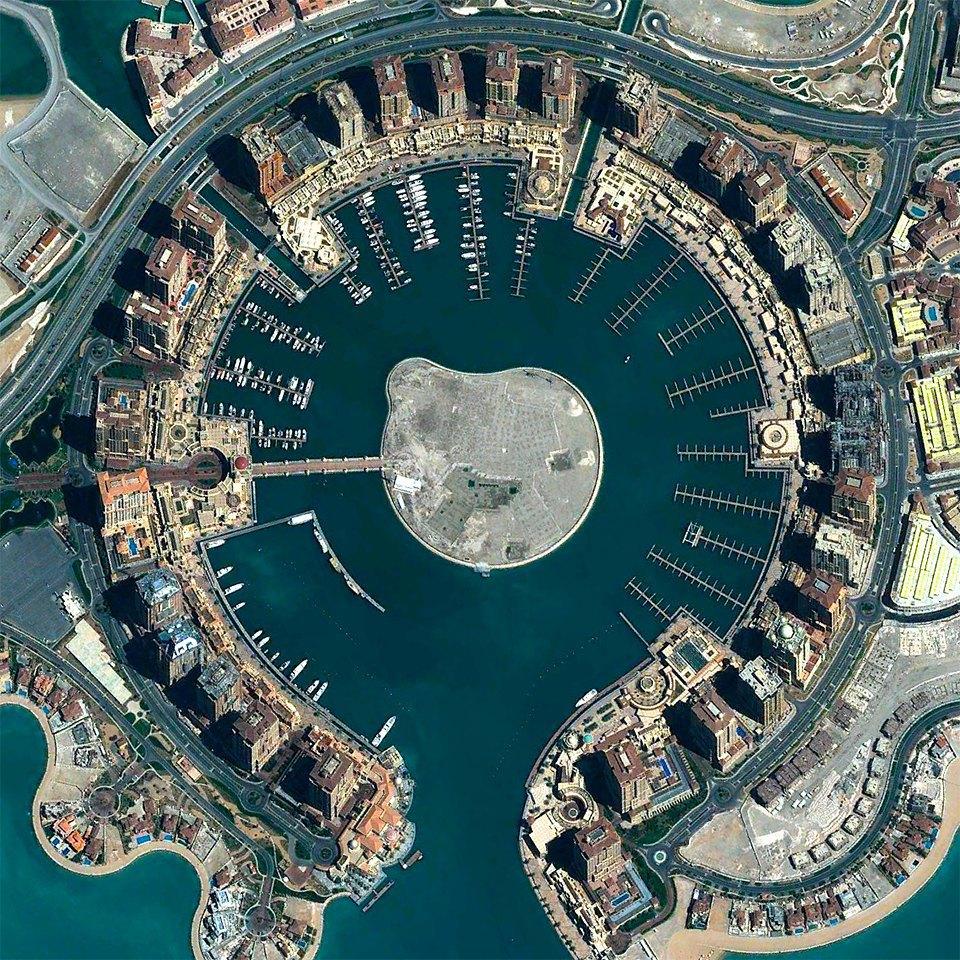 Снимки из космоса, напоминающие о хрупкости природы. Изображение № 9.