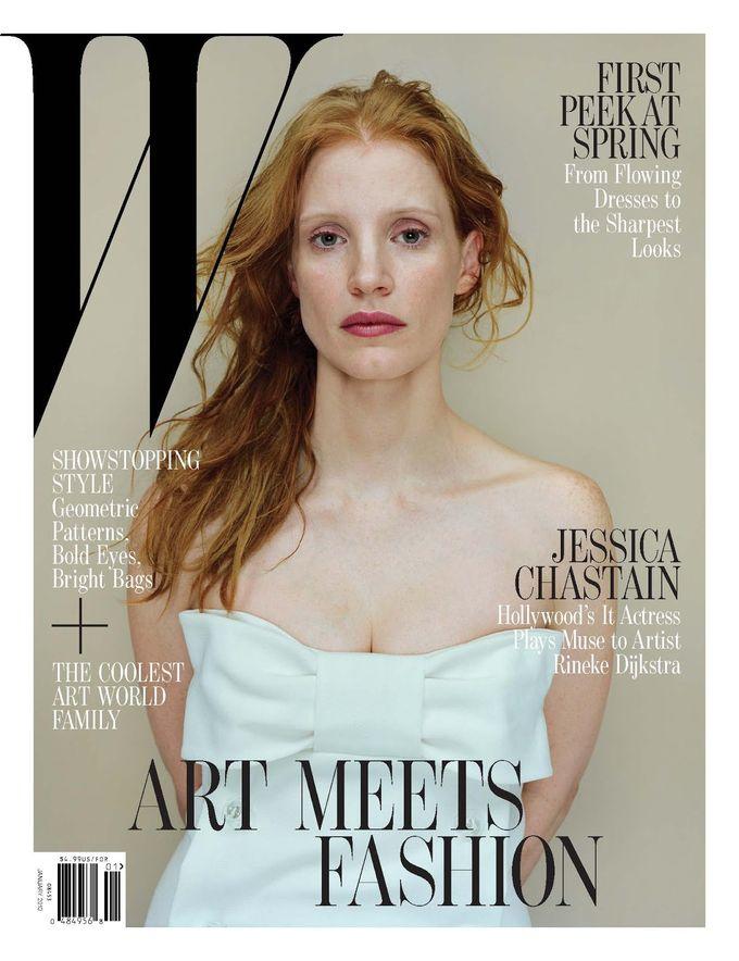 L'Officiel, Revs, W и другие журналы показали новые обложки. Изображение № 9.