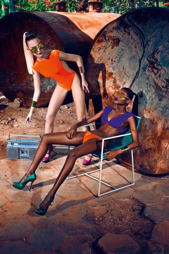 Съёмка: Кармелита Мендес и Барбара ди Креддо для Elle. Изображение № 2.