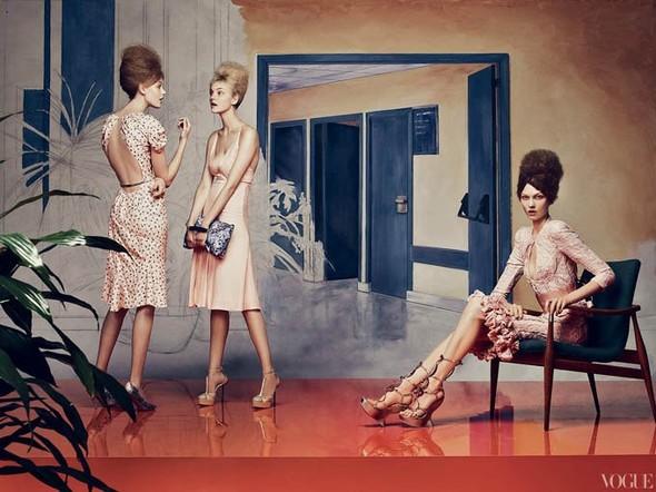 Vogue US March 2012. Изображение № 3.