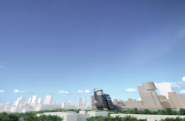 Заха Хадид проектирует университет дизайна в Гонконге. Изображение № 2.
