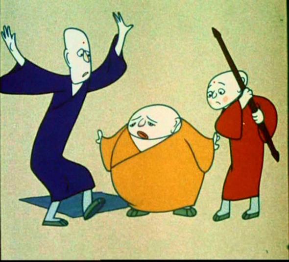Классики китайской анимации: Три монаха. Изображение № 2.