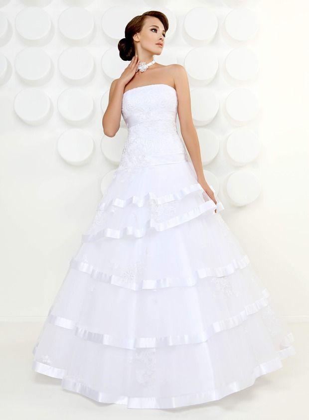 Свадебная Коллекция  от дизайнера Татьяна Каплун-Kookla 2013 ( Simple White ). Изображение №27.