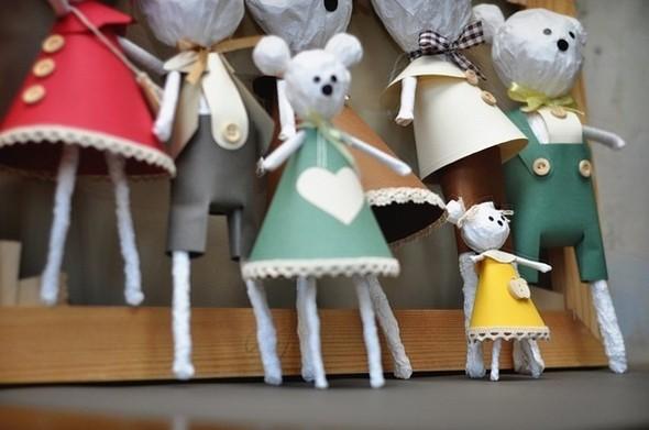 MiskaMoloka душевные игрушки ручной работы из бумаги. Изображение № 2.