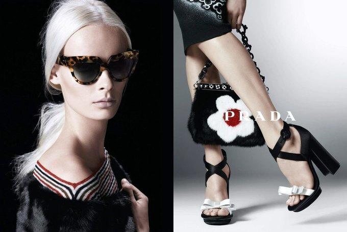 Max Mara, Prada и другие марки выпустили новые кампании. Изображение № 27.