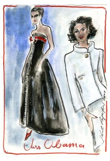 Дизайн одежды дляМишель Обамы. Изображение № 17.