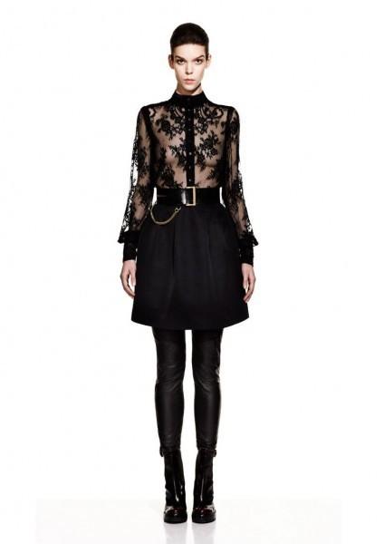 McQueen Fall 2012 Lookbook. Изображение № 10.