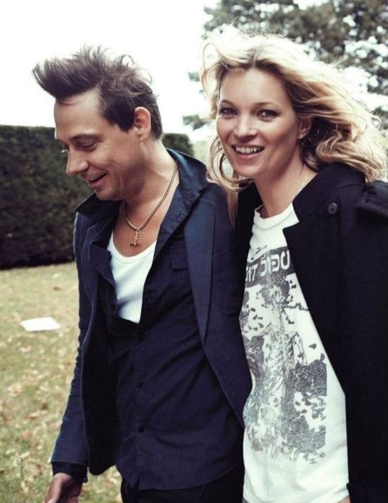 Съемка: Кейт Мосс для Elle Франция. Изображение № 2.