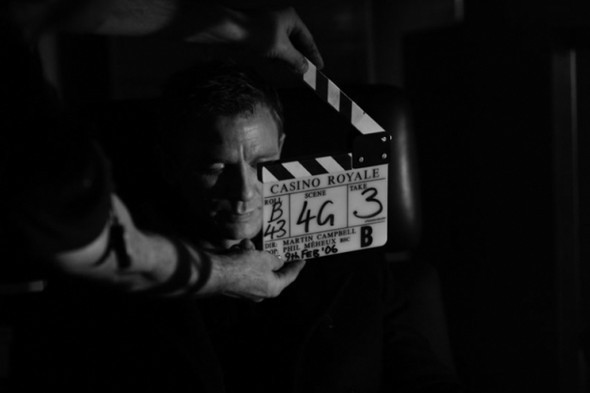 007: DANIEL CRAIG: BEHIND THE SCENES BW PHOTOGRAPHY. Изображение № 16.