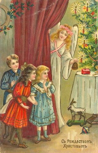 Новогодняя ирождественская открытка. Изображение № 16.