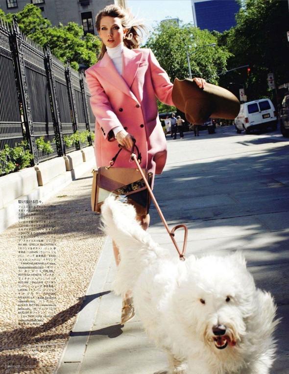 Съёмка: Карли Клосс для японского Vogue. Изображение № 6.