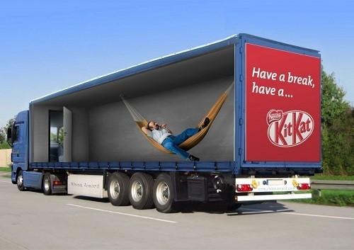 Потрясающая реклама на грузовиках. Изображение № 8.